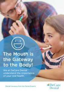 Oral health brochure cover