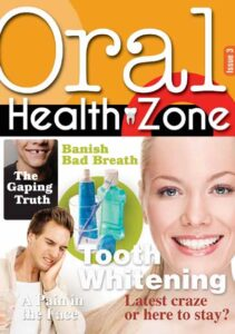 Issue 3 cover of Oral Health Zone magazine