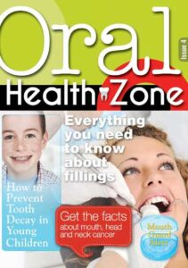 Issue 4 cover of Oral Health Zone magazine