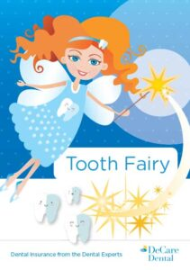 DeCare Dental tooth fairy graphic