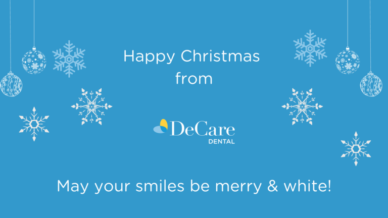 Merry Christmas message from the DeCare Dental team