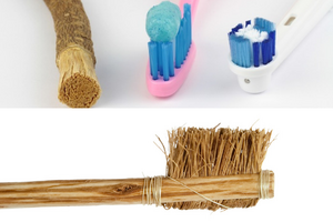 Different kinds of toothbrushes