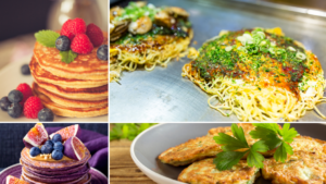 Healthy savoury and sweet pancake ideas