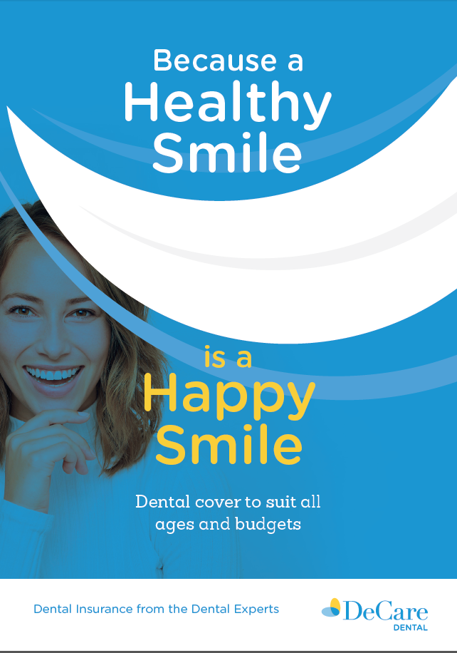 DeCare healthy smiles plans brochure cover.